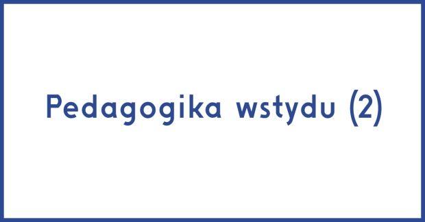Rafał Jakubowicz - Pedagogy of Shame (2)